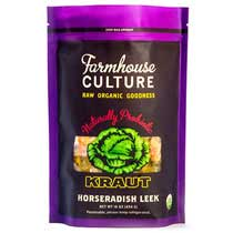 Farmhouse Culture Horseradish Leek Kraut