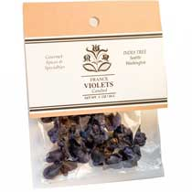 India Tree Candied Whole Violets