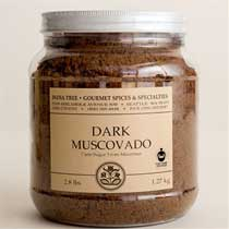India Tree Dark Muscovado Sugar - 2.8-lb Tub
