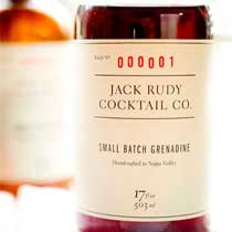 Jack Rudy's Cocktail Grenadine Syrup