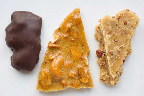 peanut brittle cashew brittle hot brittle