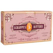 Scrappy's Lavender, Aromatic, Celery & Orange Bitters - Sampler