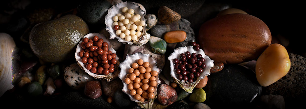 Cleopatra's Chocolate Pearls - read the story about them here