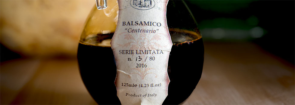 100 year old Balsamic Vinegar doesn't come around every year.