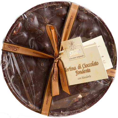 Slitti Dark Chocolate with Almonds