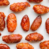 Candied Valencia Almonds