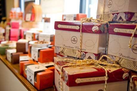 Crackers and Classic Panettone