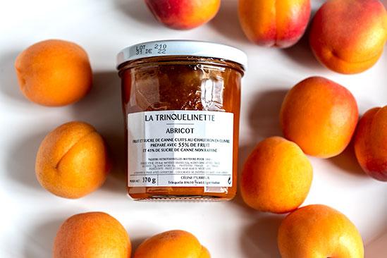 La Trinquelinette Apricot Jam