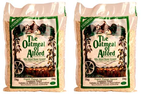 The Oatmeal of Alford Organic Stone Cut Oatmeal