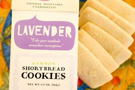 Botanical Bakery Lavender Shortbread