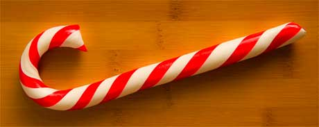 Chocolate Filled Candy Canes