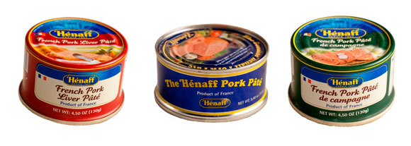 original pork pate from France