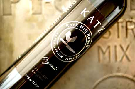 Katz Farm Organic Rock Hill Ranch Extra Virgin Olive Oil
