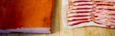 Smoked Mangalitsa Bacon