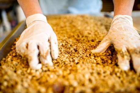 mirracole morsels gluten free granola