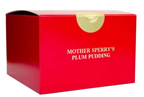 Mother Sperry Plum Pudding