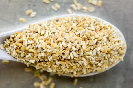 Organic stone cut oatmeal from Scotland