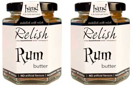Hawkshead rum butter topping