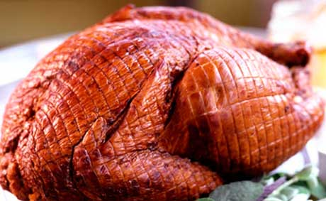 Award winning smoked turkey