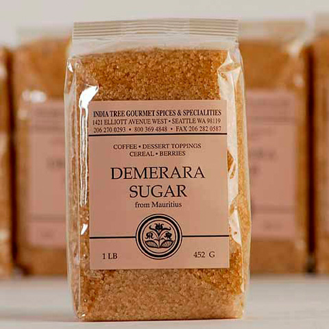India Tree Demerara Sugar - 1 lb
