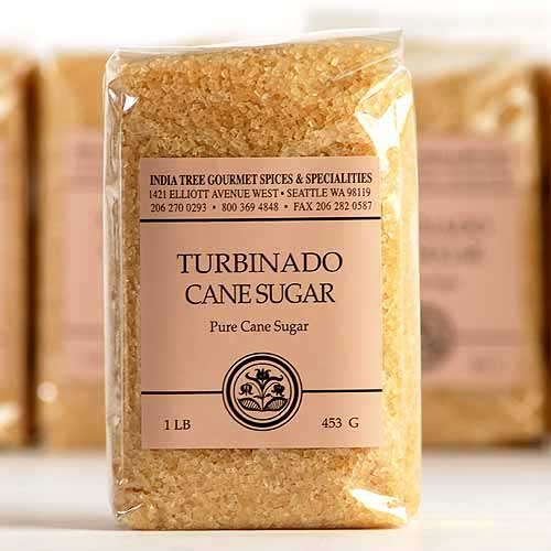 India Tree Turbinado Sugar - 1 lb