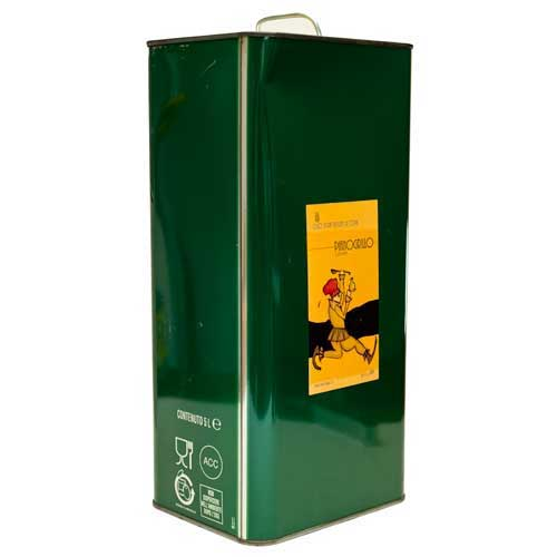 Pianogrillo Olive Oil - 5 liter tin