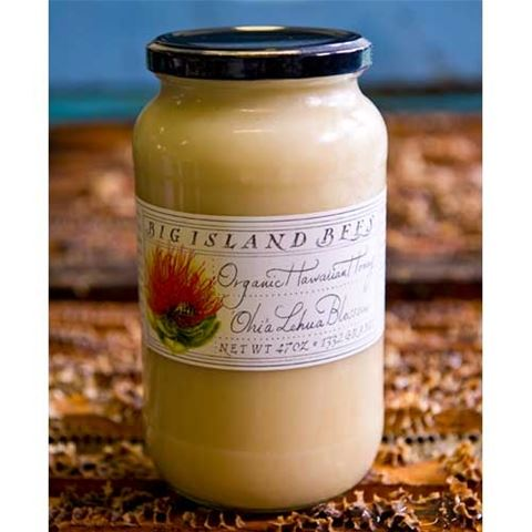Big Island Bees Ohia Lehua Blossom Honey - 47oz jar