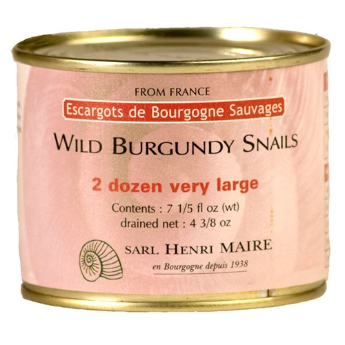 Henri Maire Escargot - Wild Burgundy Snails