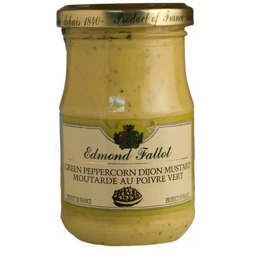 Fallot Dijon Mustard with Green Peppercorns