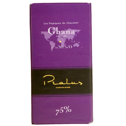Pralus Ghana Dark Chocolate 75% Bar