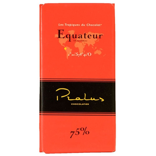 Pralus Equateur Dark Chocolate 75% Bar