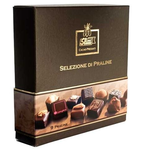 Slitti Assorted Pralines - 90 gram box