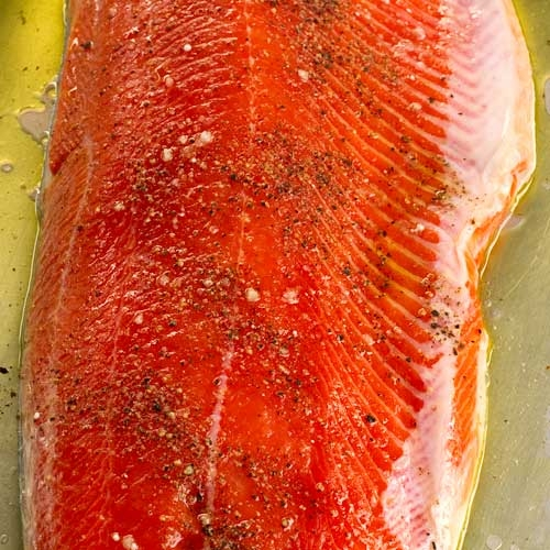 Copper River Sockeye Salmon - Fresh Wild - 5 lbs