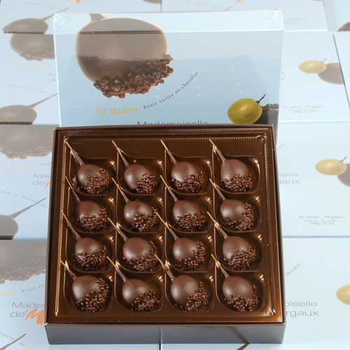 Chocolate, Rum & Grapes - Real Simple  - Mademoiselle de Margaux
