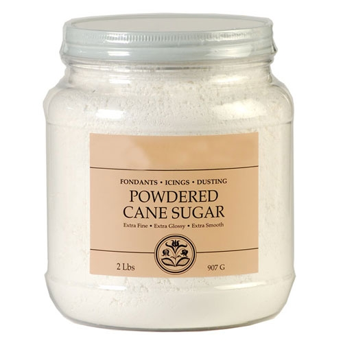 India Tree Powdered Fondant & Icing Sugar 2-lb Tub