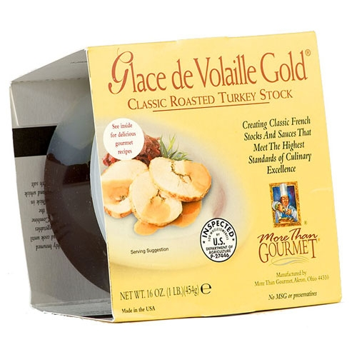 Glace de Volaille - roasted turkey stock