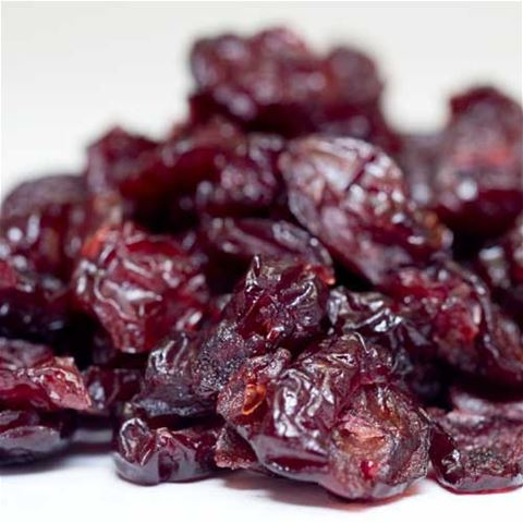 Organically-Grown Honey-Sweetened Dried Cranberries