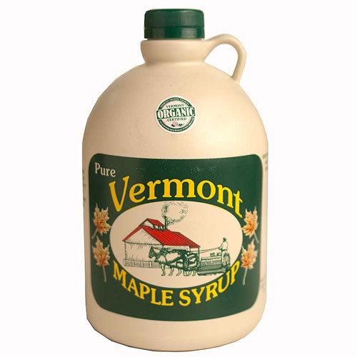Maple Syrup - Organic - Vermont 1/2 GAL