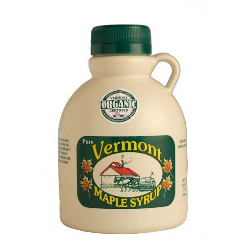 Maple Syrup - Organic - Vermont 1 pint