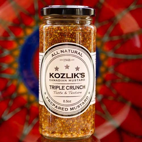 Kozliks Canadian Triple Crunch Mustard