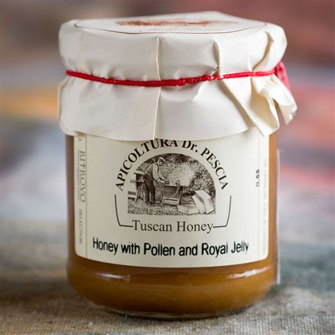 Apicultura Dr Pescia Wildflower Honey with Pollen & Royal Jelly