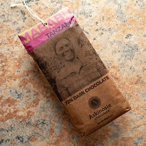 Askinosie Mababu Tanzania 72-Percent Dark Chocolate Bar