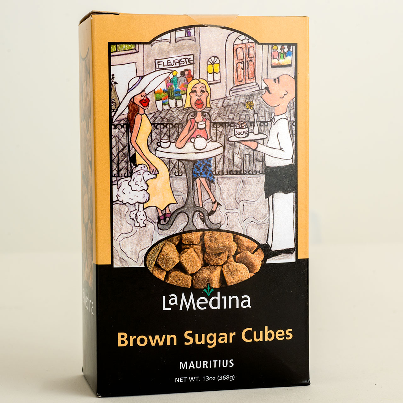 Brown Sugar Cubes from Mauritius