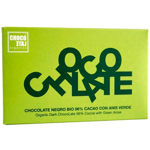 ChocoLate Organic Dark Bar with Green Anise