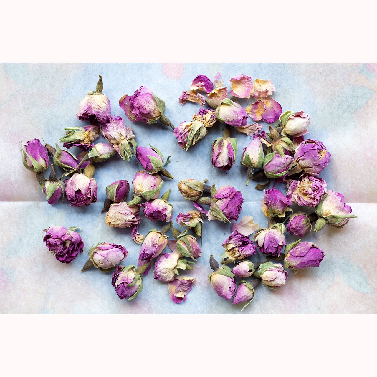 Edible Moroccan Pink Rose Buds