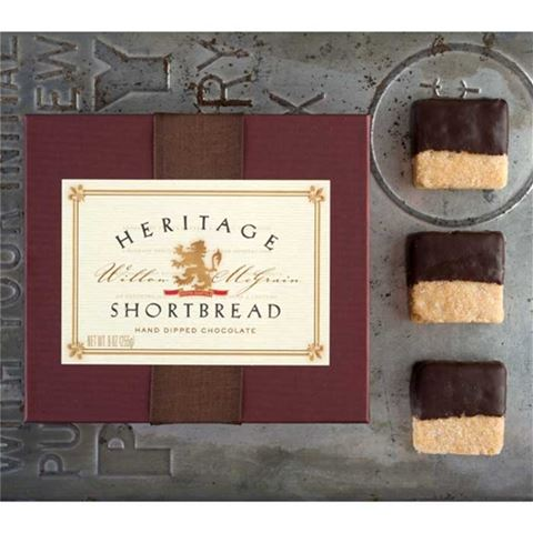 Heritage Chocolate-Dipped Shortbread - 18 piece