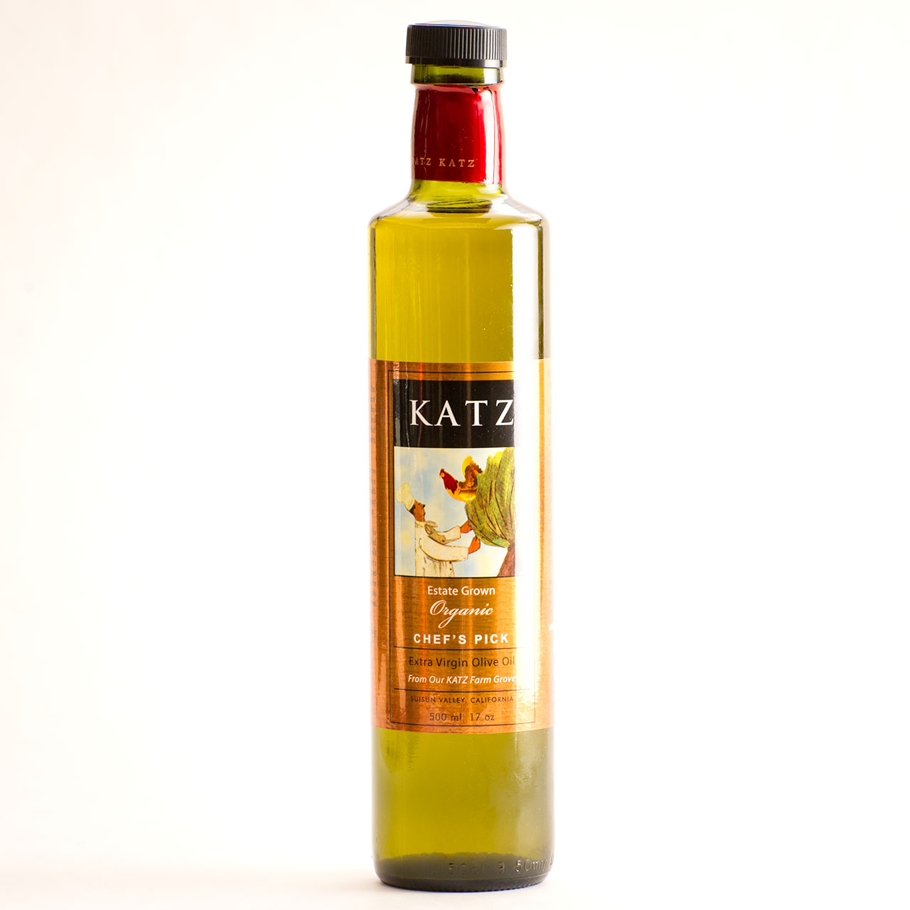 Chef's Pick Napa Valley Organic Olive Oil - Katz