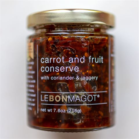 Le Bon Magot Carrot and Fruit Conserve with Coriander and Jaggery