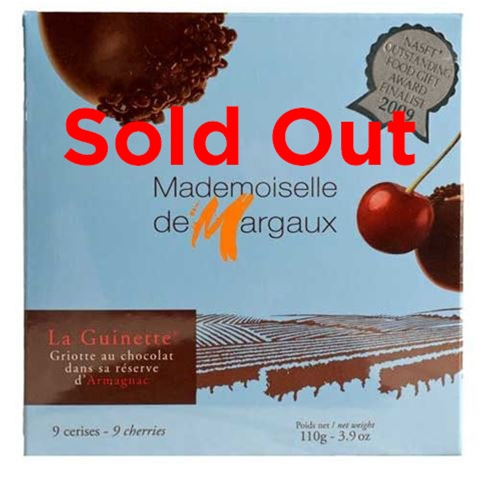 Chocolate Covered Cherries - 9 piece - Mademoiselle de Margaux