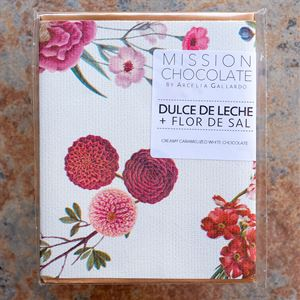 Mission Chocolate Dulce De Leche with Flor de Sal Caramelized White Chocolate Bar